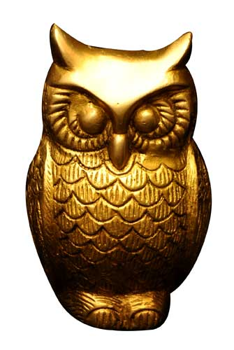 decorative lovely owls statues