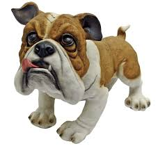 cute bulldog statues gifts